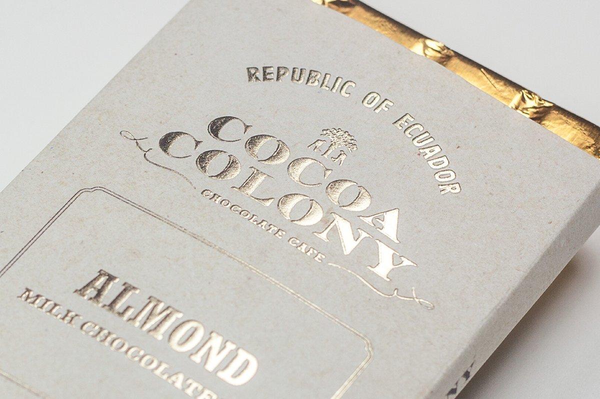Cocoa Colony食品品牌设计案例