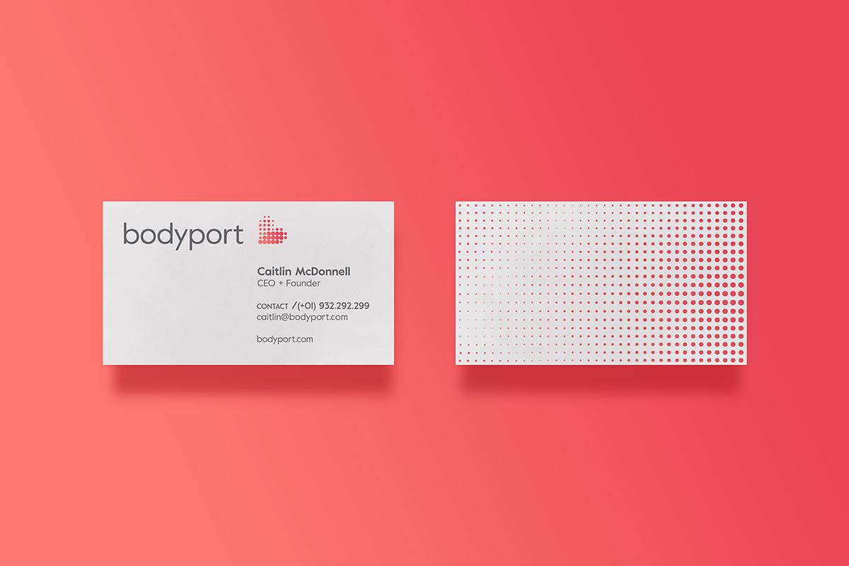 bodyport心脏健康测试仪品牌设计 名片设计