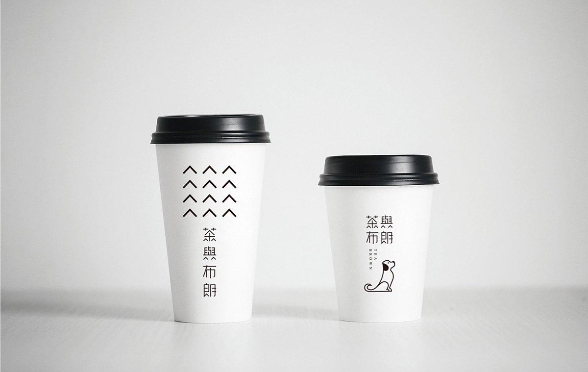 深圳品牌设计 深圳品牌筹划 茶与布匹朗顺手摇茶饮店品牌笼统设计 包装设计