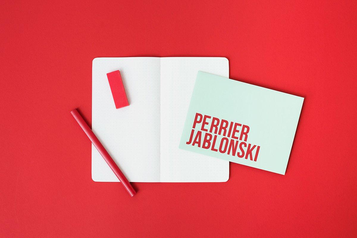 深圳品牌设计 深圳品牌策划 Perrier Jablonski网络通信品牌形象设计 本子设计