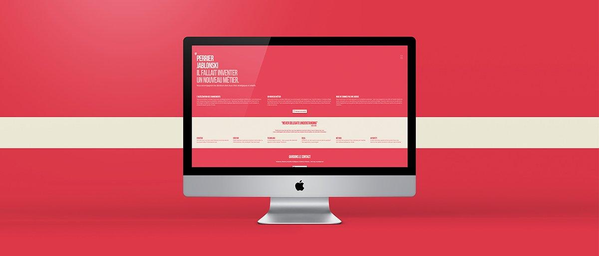 深圳品牌设计 深圳品牌策划 Perrier Jablonski网络通信品牌形象设计 网站设计
