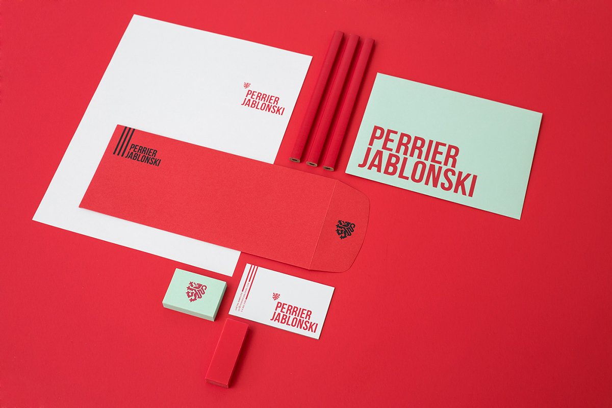 深圳品牌设计 深圳品牌策划 Perrier Jablonski网络通信品牌形象设计 VI设计