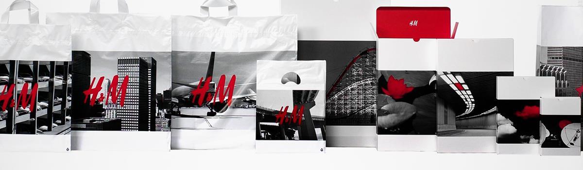 h&m服饰品牌形象设计案例欣赏