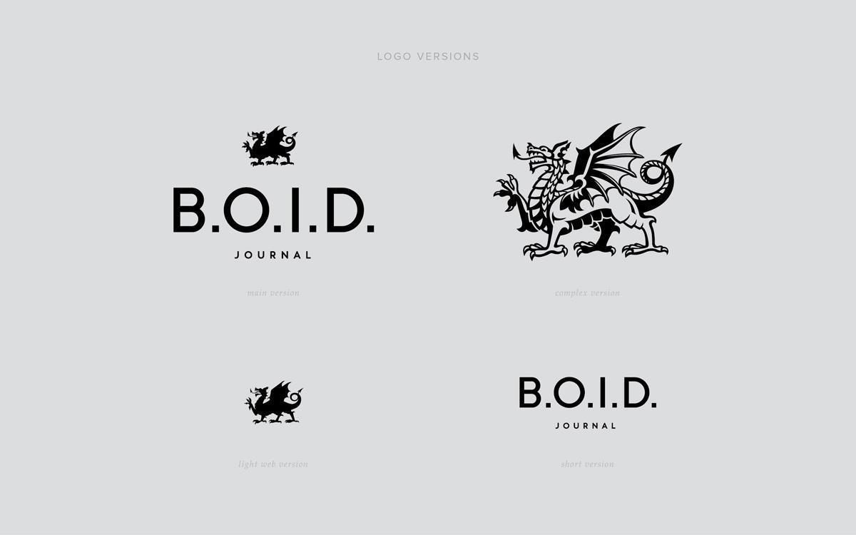 o.i.d.在线杂志vi设计