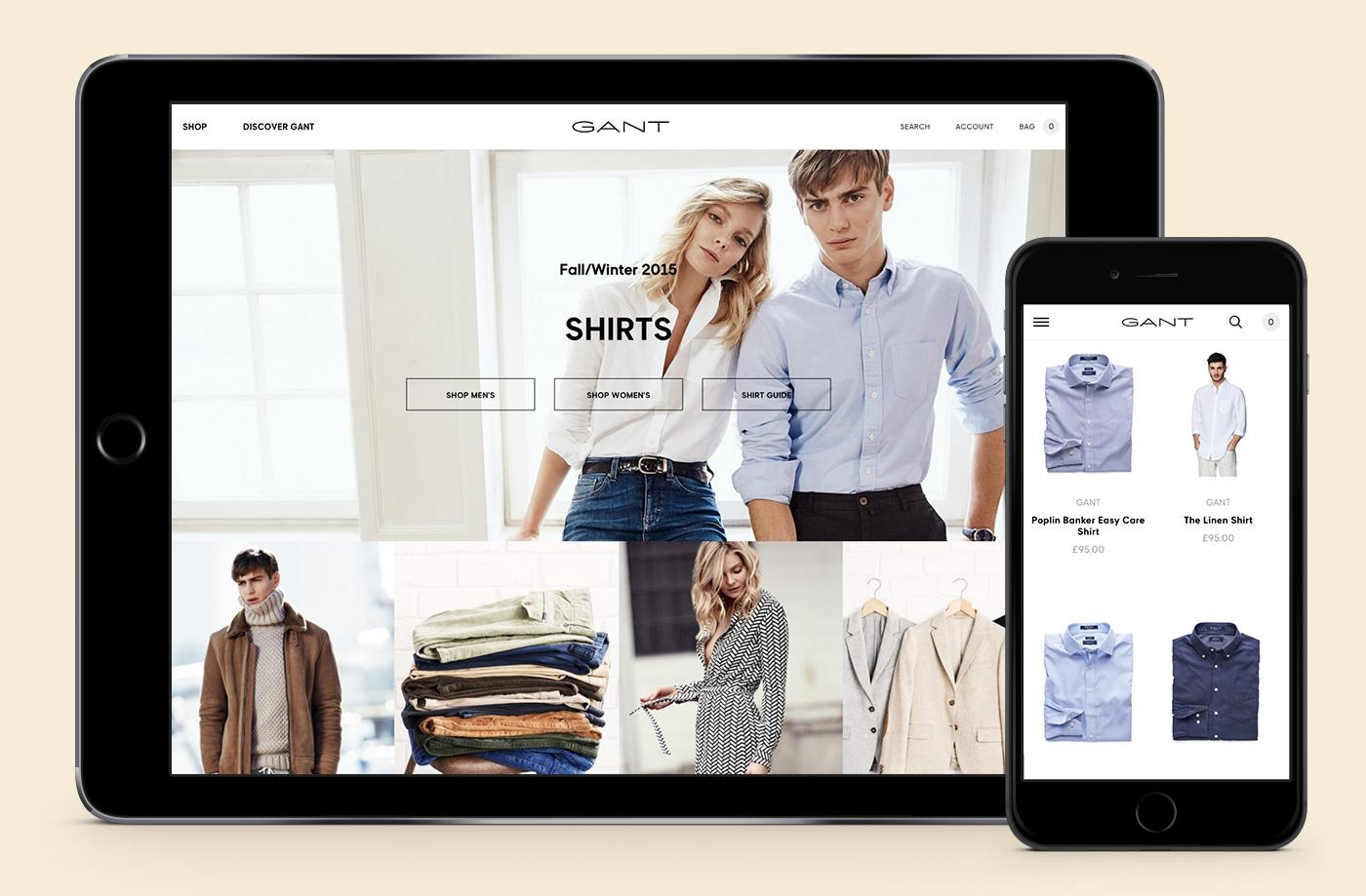 国外多套精品服装品牌形象设计案例