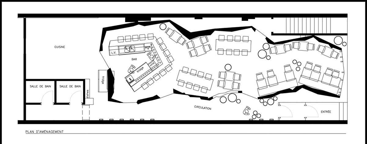 kinoya国外餐饮空间设计案例