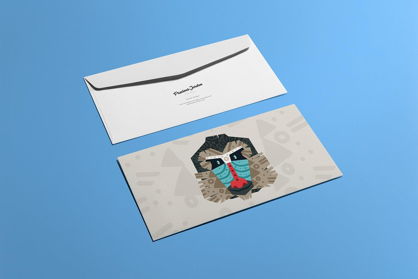 jordan儿童服装品牌形象设计
