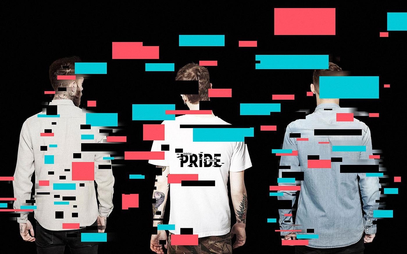 互联网营销企业pride品牌形象设计