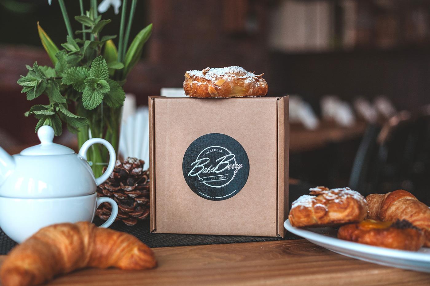 bakeberry面包店品牌设计案例欣赏