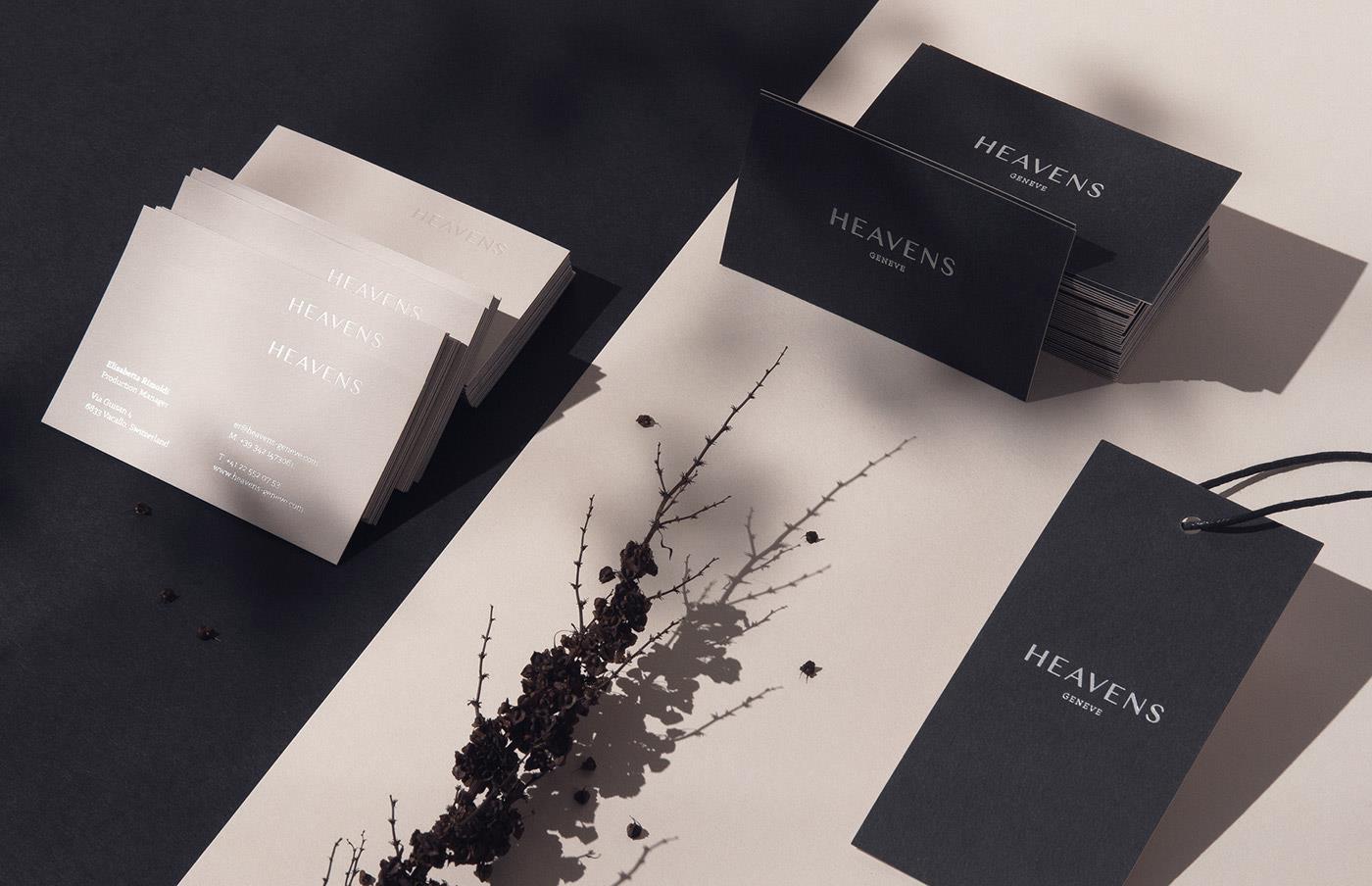 heavens高档服装品牌设计案例